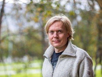 Juha Vierinen. Foto: David Jensen, UiT